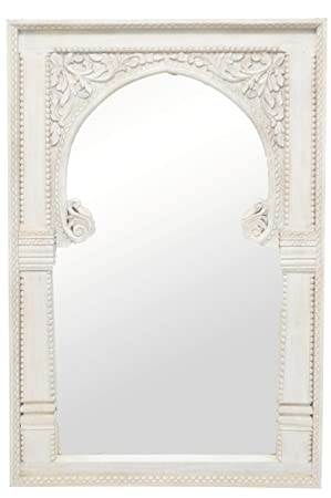 Orient Fata - Espejo de Pared (135 cm, con Marco de Madera ...