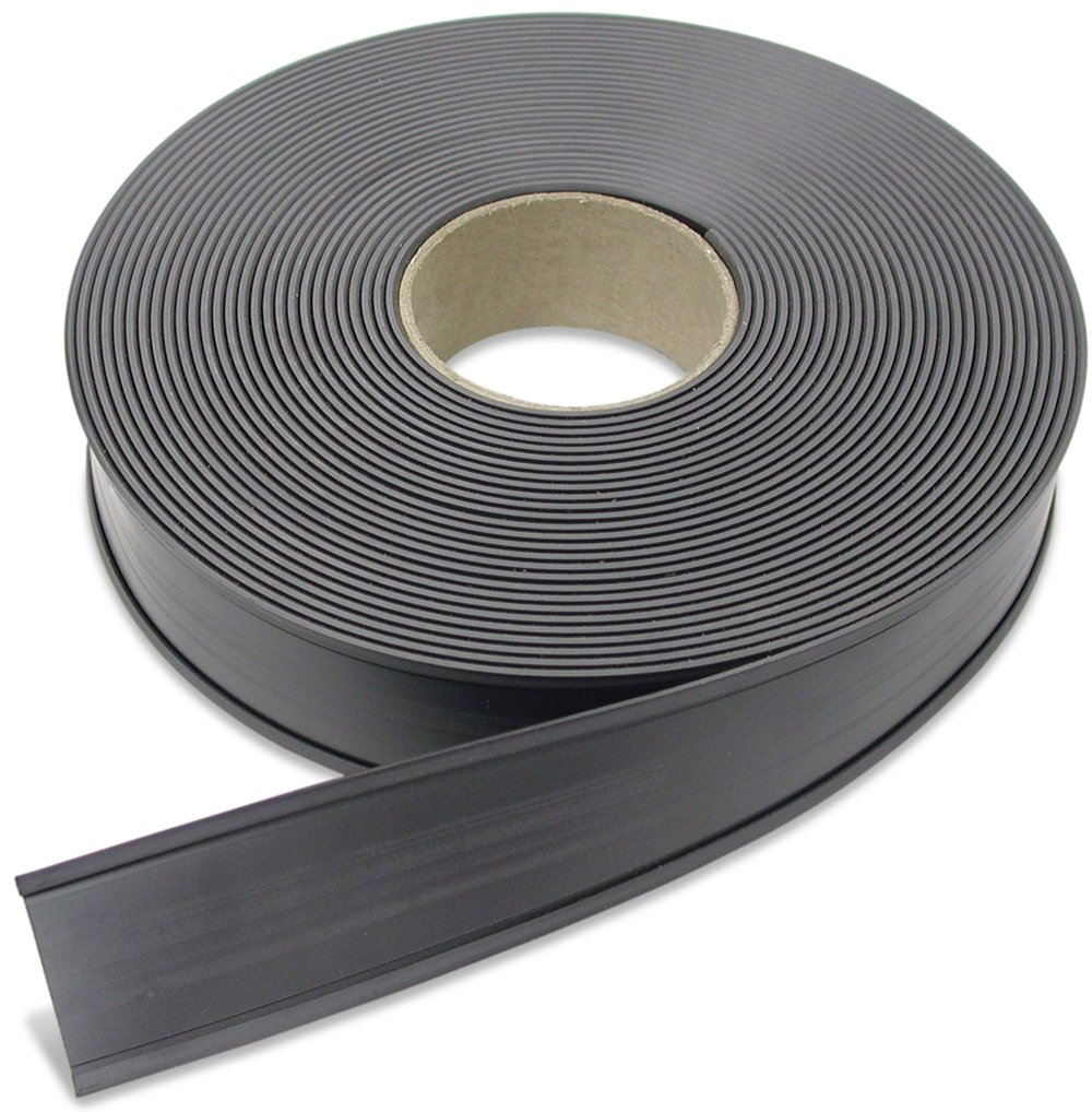 Flexible Magnet Data Card Holder.125'' Thick, 3.125'' Height, 50' Length, 1 Roll
