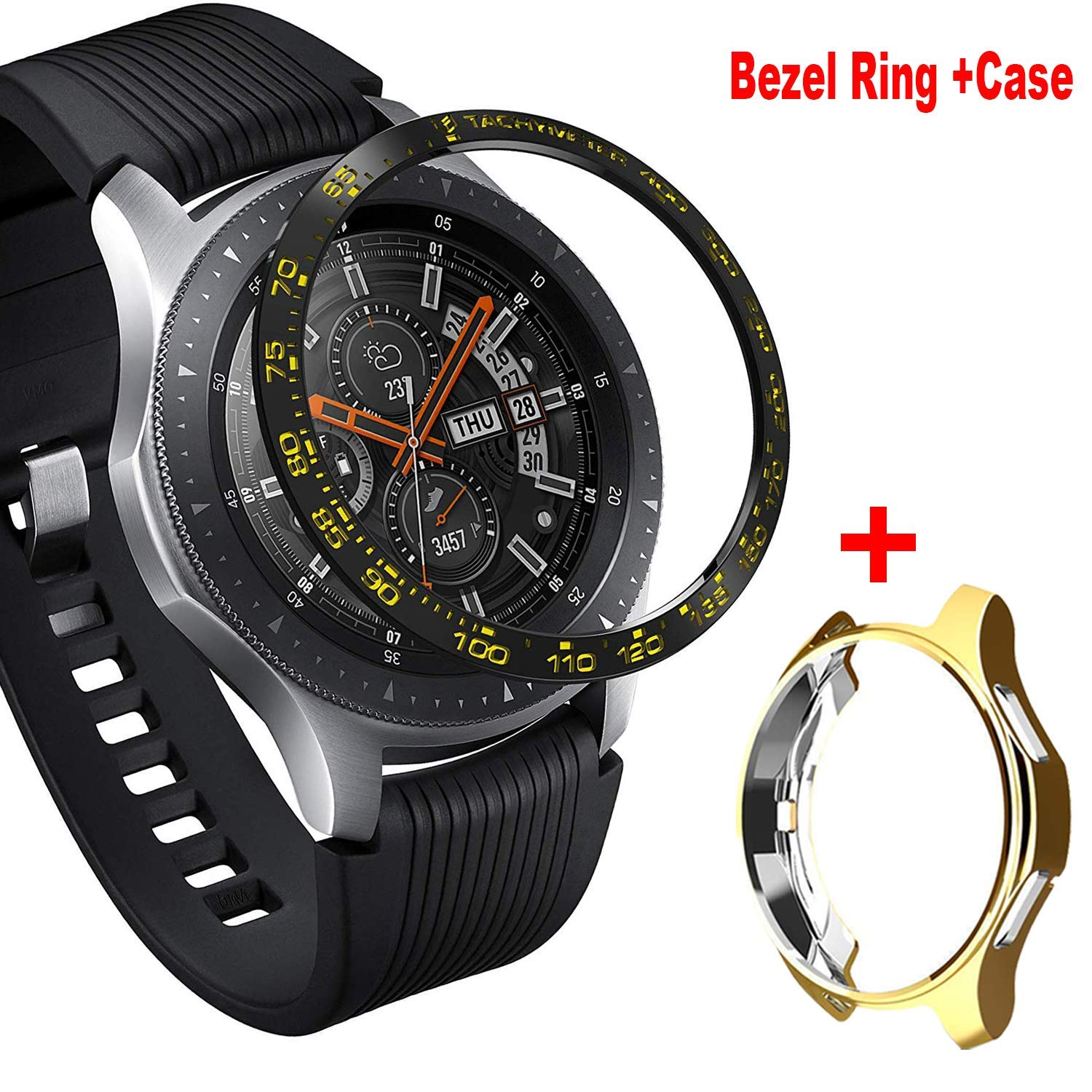 Amazon.com: Aluminum Bezel Ring Compatiable for Samsung ...