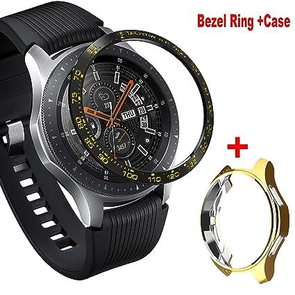 Amazon.com: Aluminum Bezel Ring Compatiable for Samsung ...