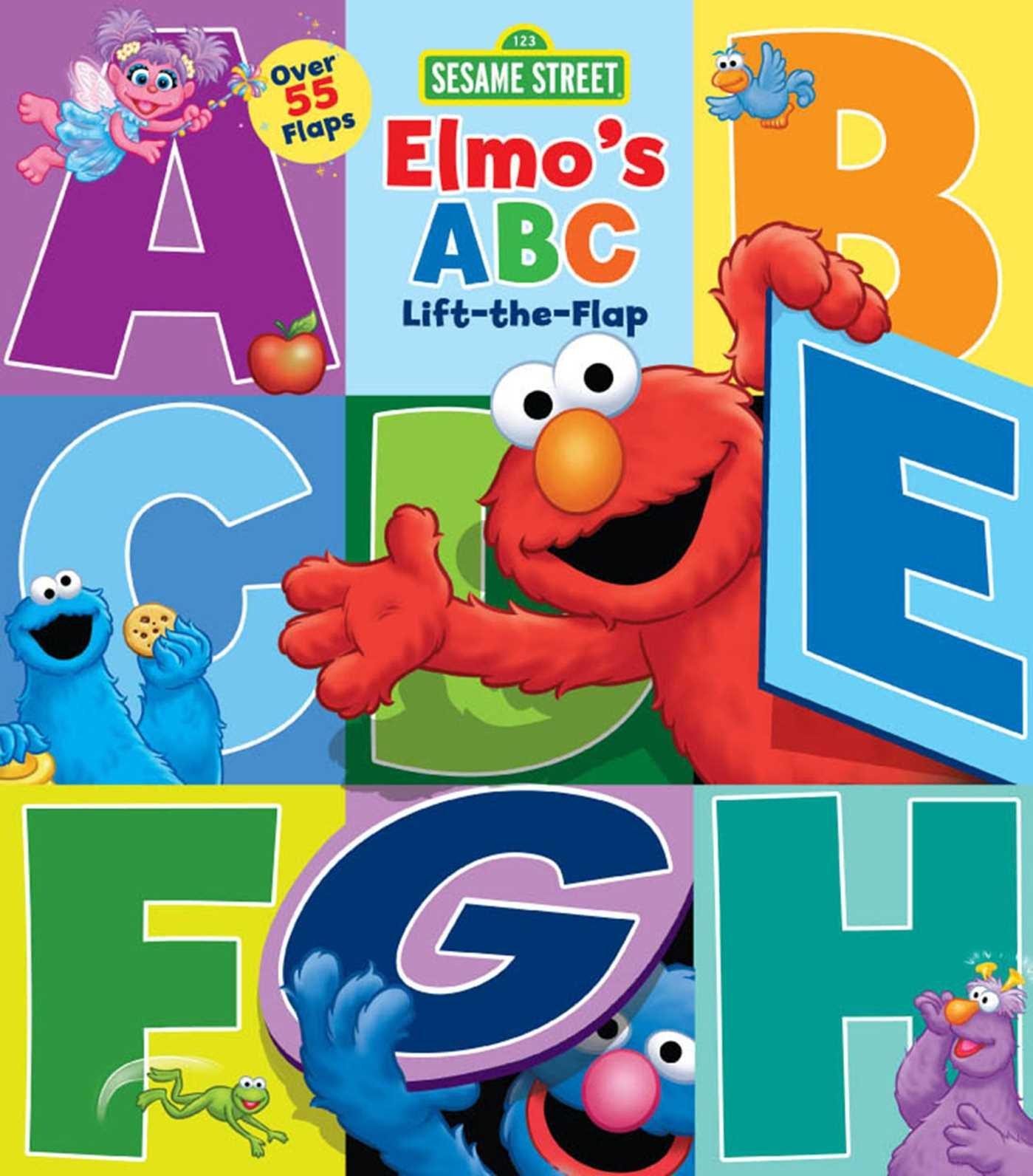f23b858ffc Amazon.com: Sesame Street: Elmo's ABC Lift-the-Flap (9780794440589 ...