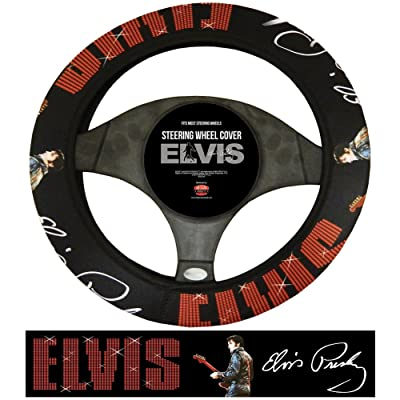 Midsouth Products Steering Wheel Cover - Elvis 68 Name: Automotive