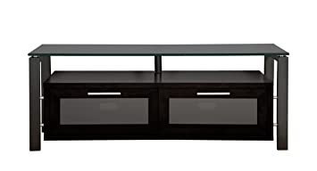 Amazon Com Plateau Decor 50 Bb Bg Wood And Glass Tv Stand 50 Inch
