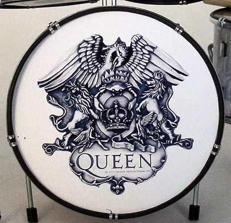 RGM328 Queen diseño de guitarra eléctrica de tambor para impresora A en miniatura para plnchar miniaturas Freddy Mercury Brian May ...