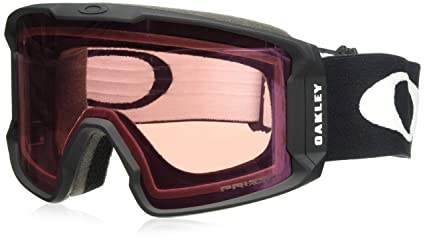 1860e198af Image Unavailable. Image not available for. Colour  Oakley Men s Line Miner  Snow Goggles