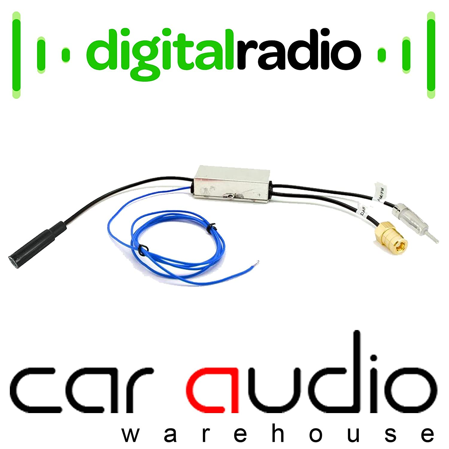 Autoleads Pc6 536 Dab Radio Car Stereos Aerial Antenna Amplifier Wiring Kit Halfords Electronics