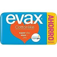 Evax Cottonlike Super Compresas con Alas - 24