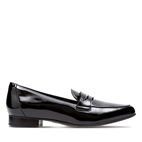 Clarks Un Blush Go, Mocasines para Mujer, Negro Black Pat Lea, EU: Amazon.es: Zapatos y complementos