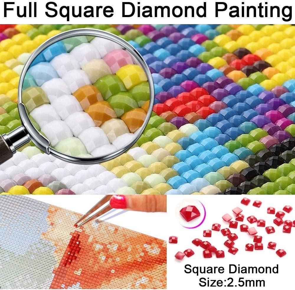 YHZSML Pittura Diamante 5D Fai-da-Te con Kit,Harry Style 3D Diamond Painting Kit Trapano Completo Artigianato a Punto Croce per la Decorazione Domestica 30x40cm