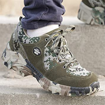 3ffd3f8438f7d Amazon.com : Outdoor Hiking Shoes Military Tactical Camouflage ...