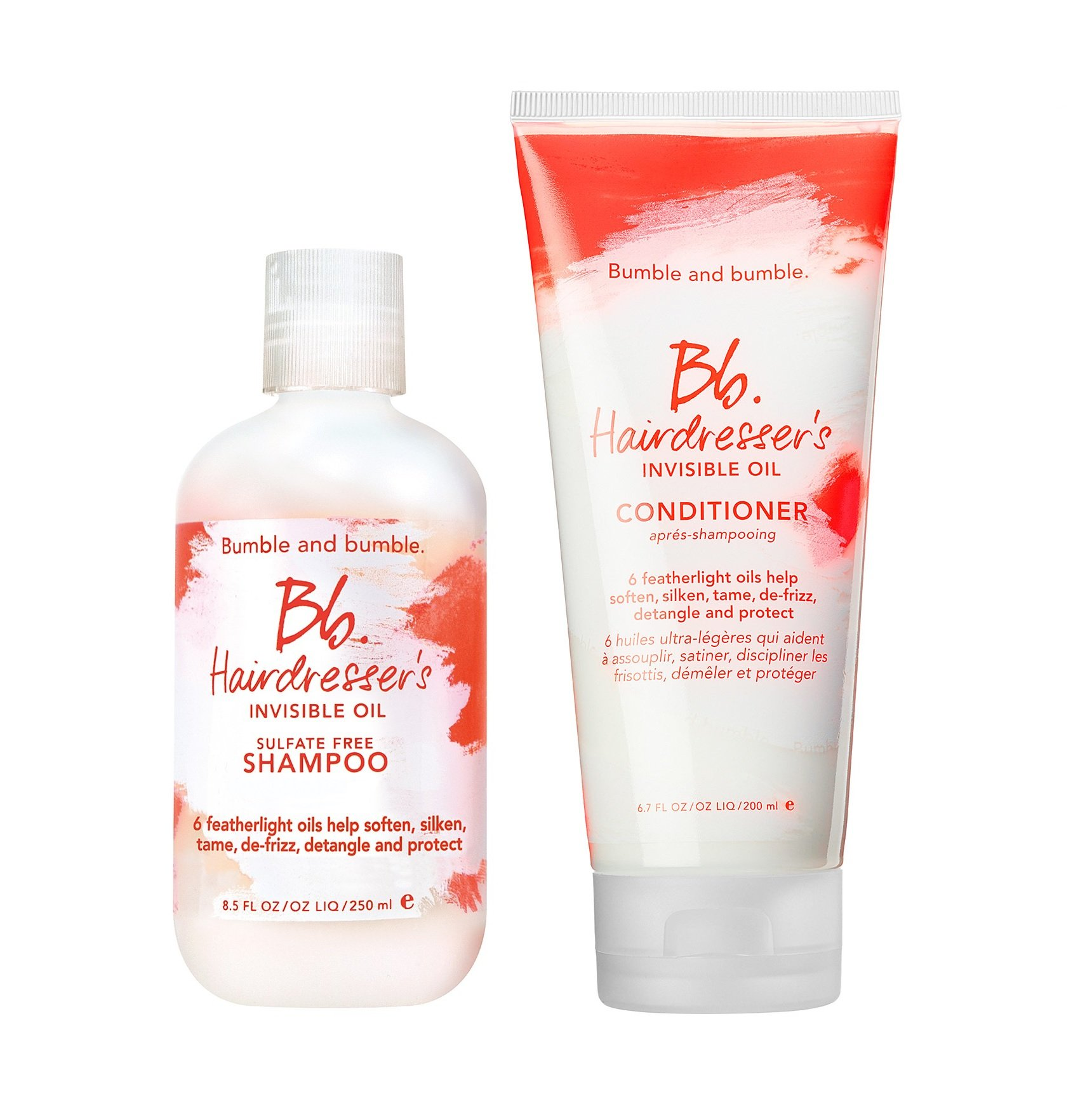 Bumble and Bumble Hairdresser's Invisible Oil Sulfate Free Shampoo & Conditioner Duo 8.5 oz by Bumble and Bumble