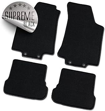Bär Afc Mb02261 Supreme Auto Fußmatten Velours Schwarz Rand Kettelung Schwarz Set 2 Teilig Passgenau Für Modell Siehe Details Auto