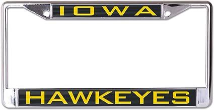WinCraft NCAA Northern Iowa Metal License Plate Frame