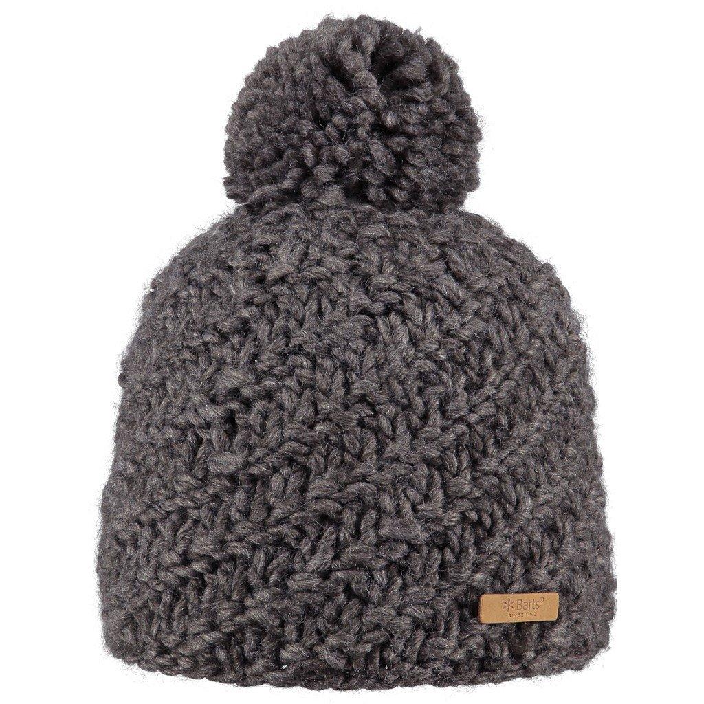 b287ce2d8ba Barts Womens Ladies Chani Warm Chunky Knit Walking PomPom Beanie Hat   Amazon.co.uk  Sports   Outdoors