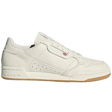 nouveau produit 16ce0 6fd6c Adidas Continental 80 White, Basket Mode pour Hommes. Tennis ...