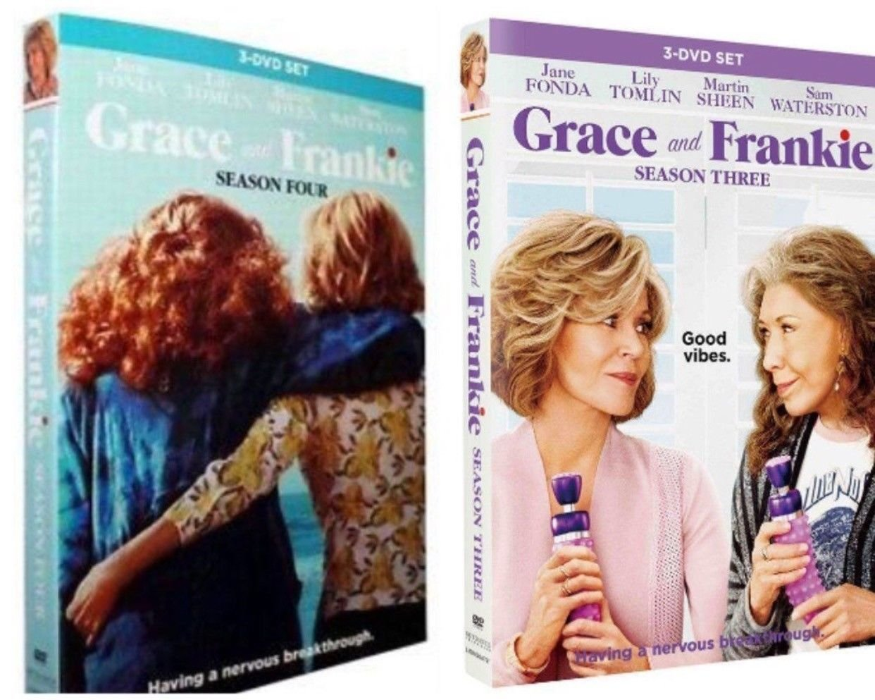 Grace and Frankie Seasons 3-4 (DVD)