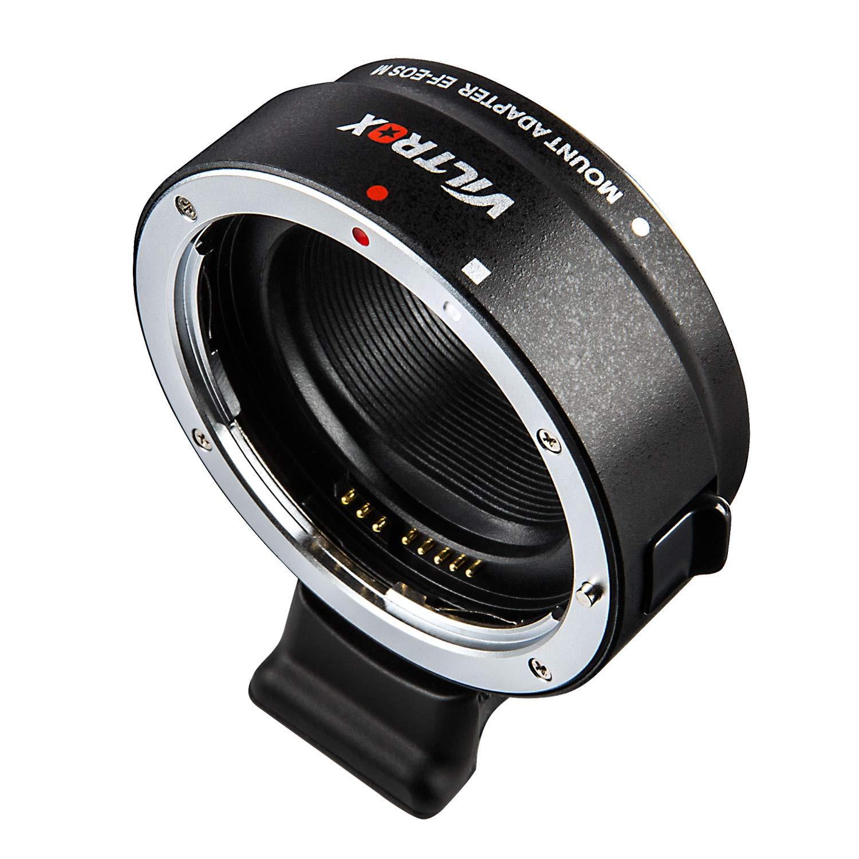 Viltrox EF-FX1 Adaptador de Objetivo para Canon EF//EF-S a Fuji X-Mount sin Espejo para c/ámara X-T3 X-T2 X-T20 X-T10 X-T100 X-PRO2 X-E3 X-A20 X-A5