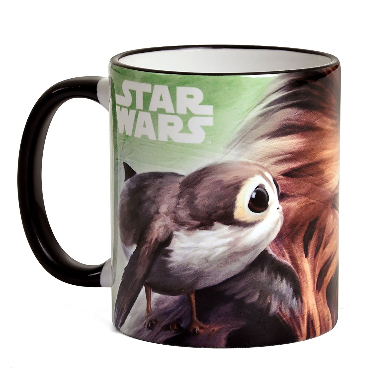 Star Wars Chewbacca Taza Porgs La Última 320ml Jedi de la cerámica ...