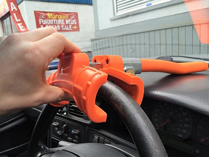 Xtremeauto® Extra Large, Anti-Theft Steering Lock Bar Security Device For  Car, Van, Lorry, Boat - HEAVY DUTY