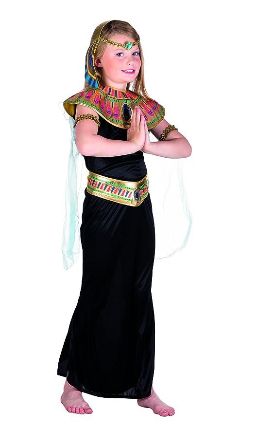497874bee260 Boland- Cleopatra Principessa del Nilo Costume Bambina, Nero/Oro, 10 ...