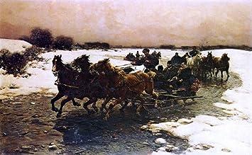 Amazoncom Alfred Von Wierusz Kowalski Before The Hunt 16
