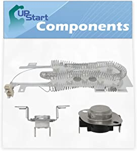 8544771 Dryer Heating Element & 279973 Thermal Cut-Off Fuse Kit Replacement for Whirlpool WED9450WW1 Dryer - Compatible with WP8544771 & 8318314 Heater Element & Thermal Fuse Kit