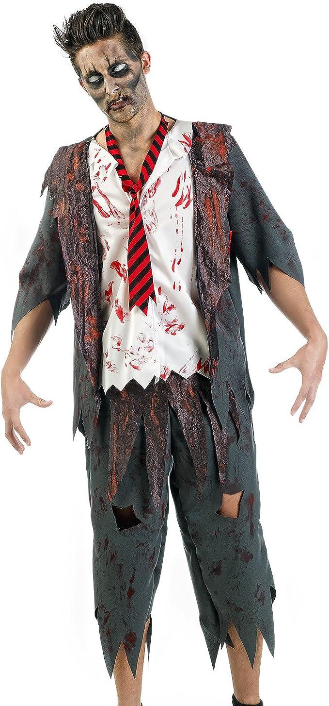 Disfraz de Zombi Chico de Instituto Disfraz de Caballero de 3 Piezas ...