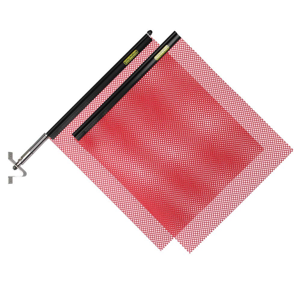 Oversize Warning Products - Quickmount Warning Flag Kit (Red)