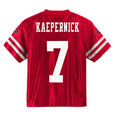 fc7028ed9 Colin Kaepernick San Francisco 49ers Red Home Player Jersey Youth (Small  6 7)