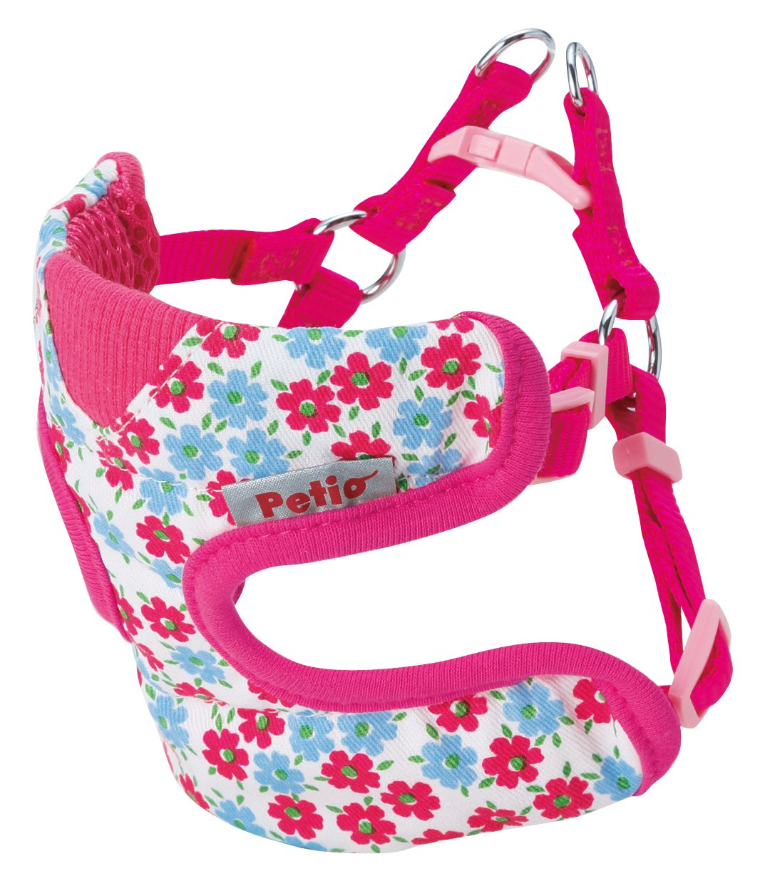 Petio (Petio) colorful Flower Best Harness SS (Small Dogs) Pink