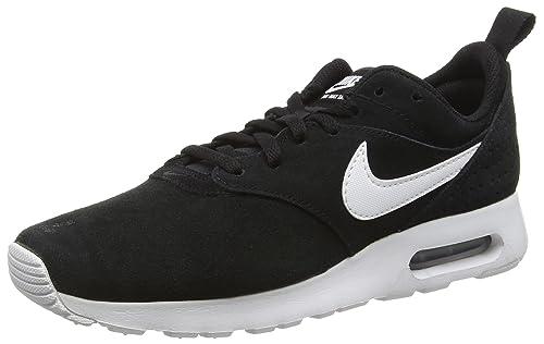 Nike - Zapatillas de Piel para hombre negro negro 45.5 EU, black white 001, 44,5 EU