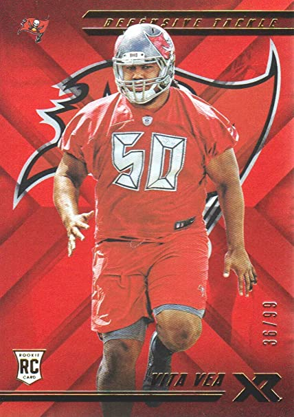 finest selection f5a86 618cb 2018 Panini XR Football Orange #116 Vita Vea 36/99 Tampa Bay ...