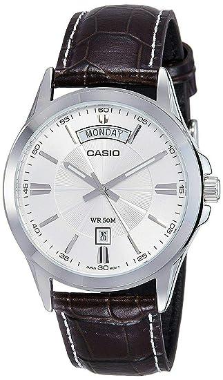 Casio MTP1381L-7AV - Reloj de Pulsera para Hombre (Correa de ...