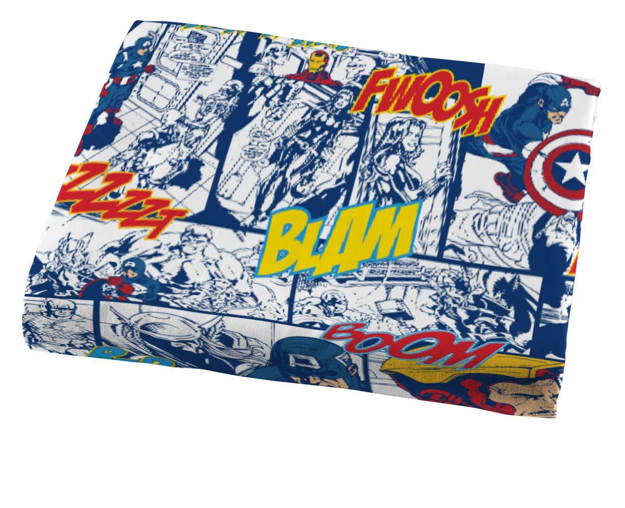 Jay Franco Marvel Avengers Publish 3 Piece Twin Sheet Set, by Jay Franco (Image #4)