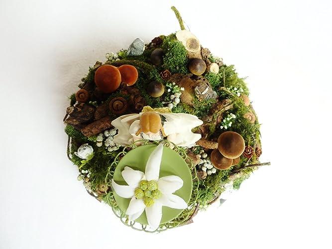 Herbstdeko Tischdeko Edelweiss Wohndeko Deko Herbst Oktoberfest