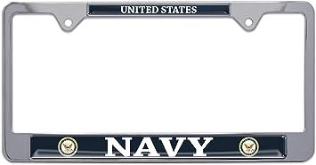 Elektroplate United States Navy 3D License Plate Frame