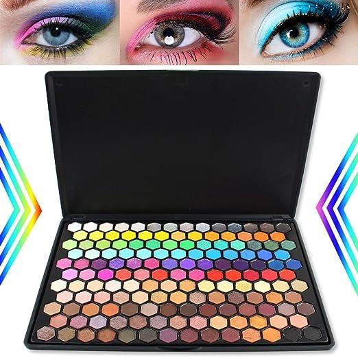 Amazon.com: 149 colores sombra de ojos maquillaje cosmético ...