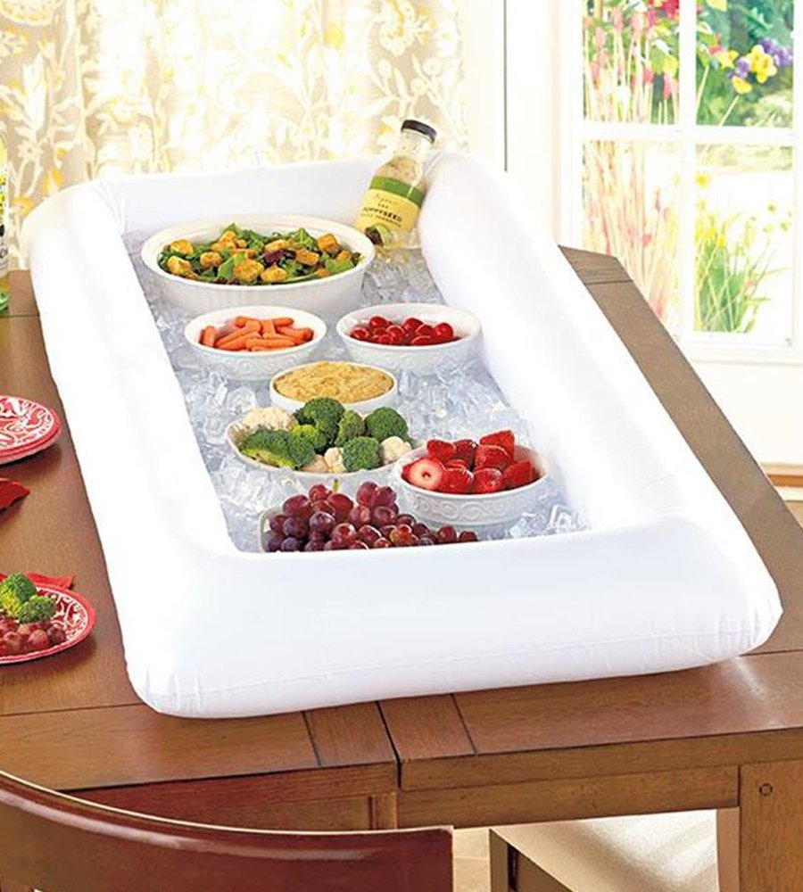 Table Inflatable Bar Cooler Pool Party Drink Tray Float ...