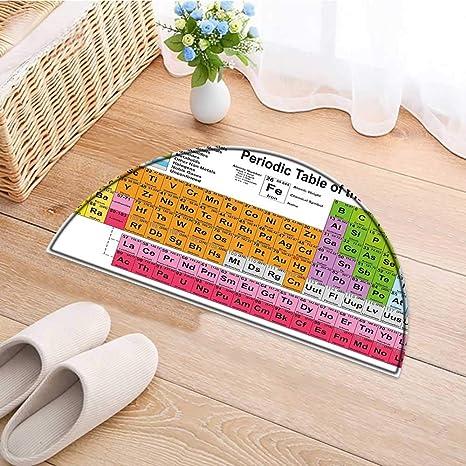 Carpet Floor mat Bath mat Door mat Table Science Freak Chemistry rs Element Table for Fun
