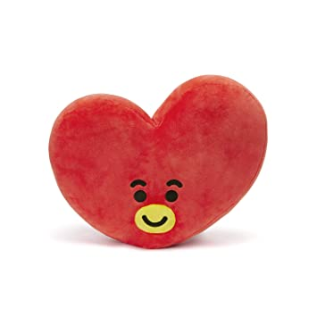 Bt21 Official Bts Merchandise By Line Friends   Tata Smile Decorative Throw Pillows Cushion, 16.5 Inch (Designed By Bangtan Boys) by Bt21