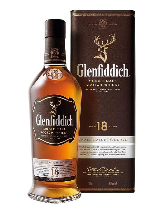 Glenfiddich Small Batch Reserve Single Malt Scotch 18 Jahre (1 x 0.7 ...