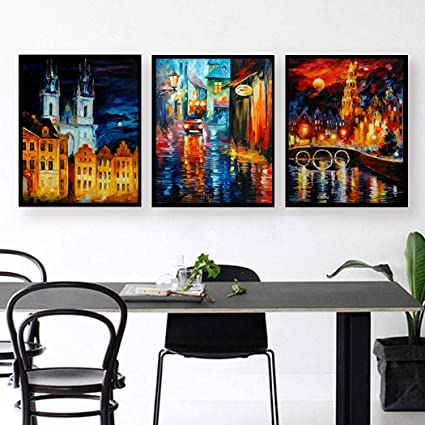 Amazon.com: Liwei18 Canvas Art Prints Wall Art Abstract Pictures ...