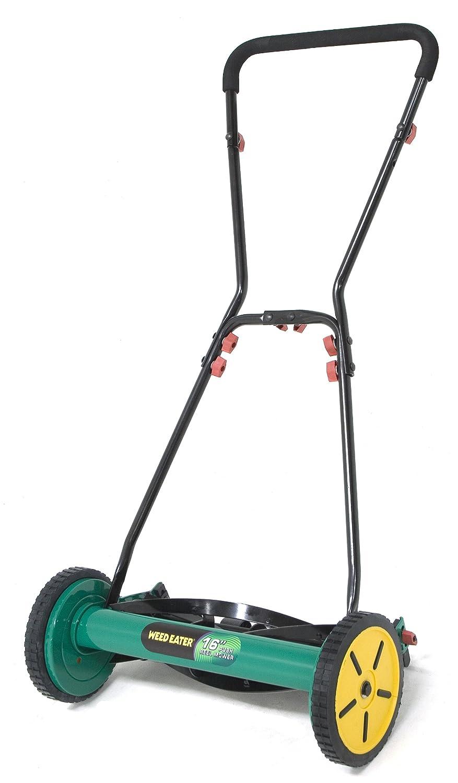 Amazon.com : Weed Eater WE16R 16-Inch Push Reel Lawn Mower : Walk Behind  Lawn Mowers : Garden & Outdoor