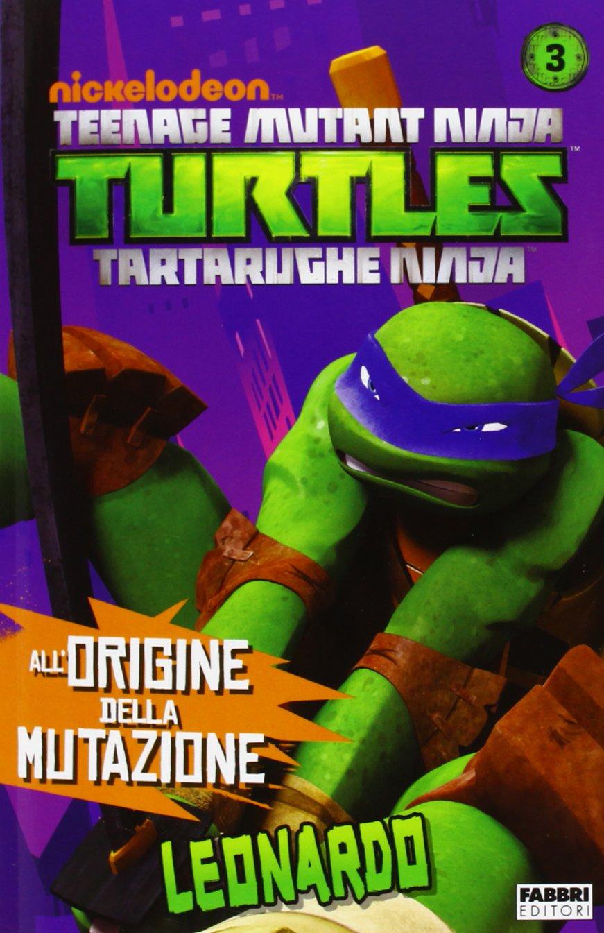 Leonardo. Turtles Tartarughe Ninja: 9788845198571: Amazon ...