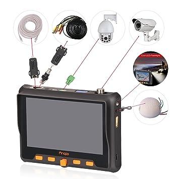 Comprobador de muñeca multifunción CCTV 1080P AHD TVI CVI CVBS 4 en 1 coaxial HD Video