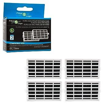 Réfrigérateurs, Congélateurs 2x Antibac-air Filtre Pour Bauknecht Réfrigérateur Congélateur Ant002