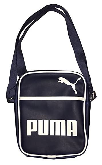 68461af2c6de Amazon.com  Puma Heritage Portable Crossbody Bag (Navy)  Shoes