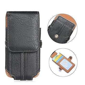 d5dd5eba0e80 PU Cuir Phone Case  Capacité 6.3 Pouces  Universel Sacoche Etui tactique  Téléphone Portable Sac