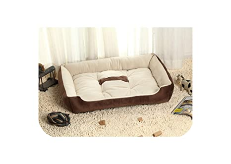 Amazon.com : Small Middle Large Dog Bed Kennel Mat Soft Pet ...