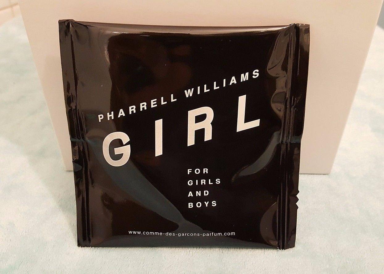 Pharrell Williams GIRL for Girls and Boys EDP Spray1.5ml / 0.05 Fl Oz Travel Size! (6 Pack)